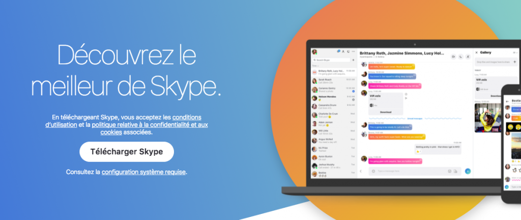 Nouvelles fonctions de Skype