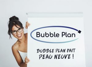 Nouveau logo Bubble Plan - gestion de projet