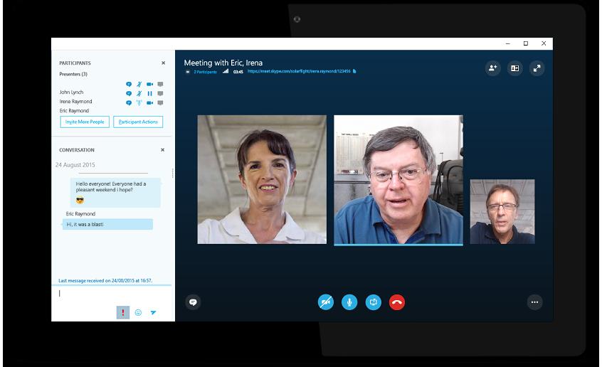 La fonction visioconférence de Skype