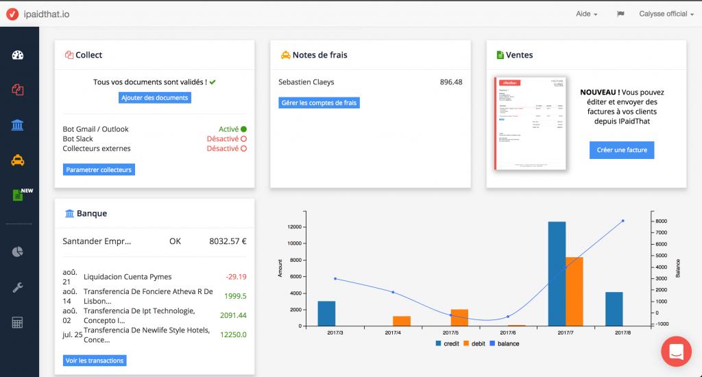 Piloter sa comptabilité avec iPaidThat