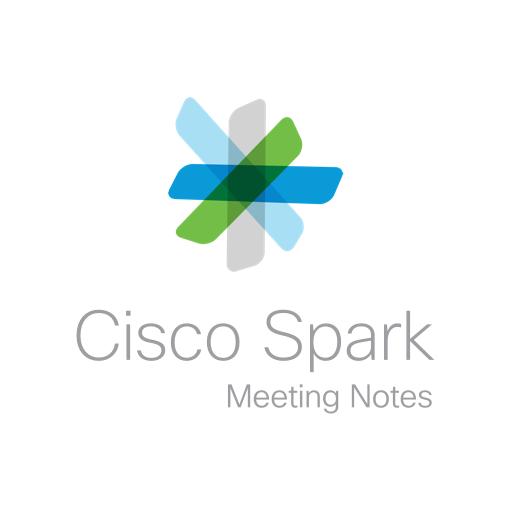 Logo du logiciel réunions Spark Meeting de Cisco