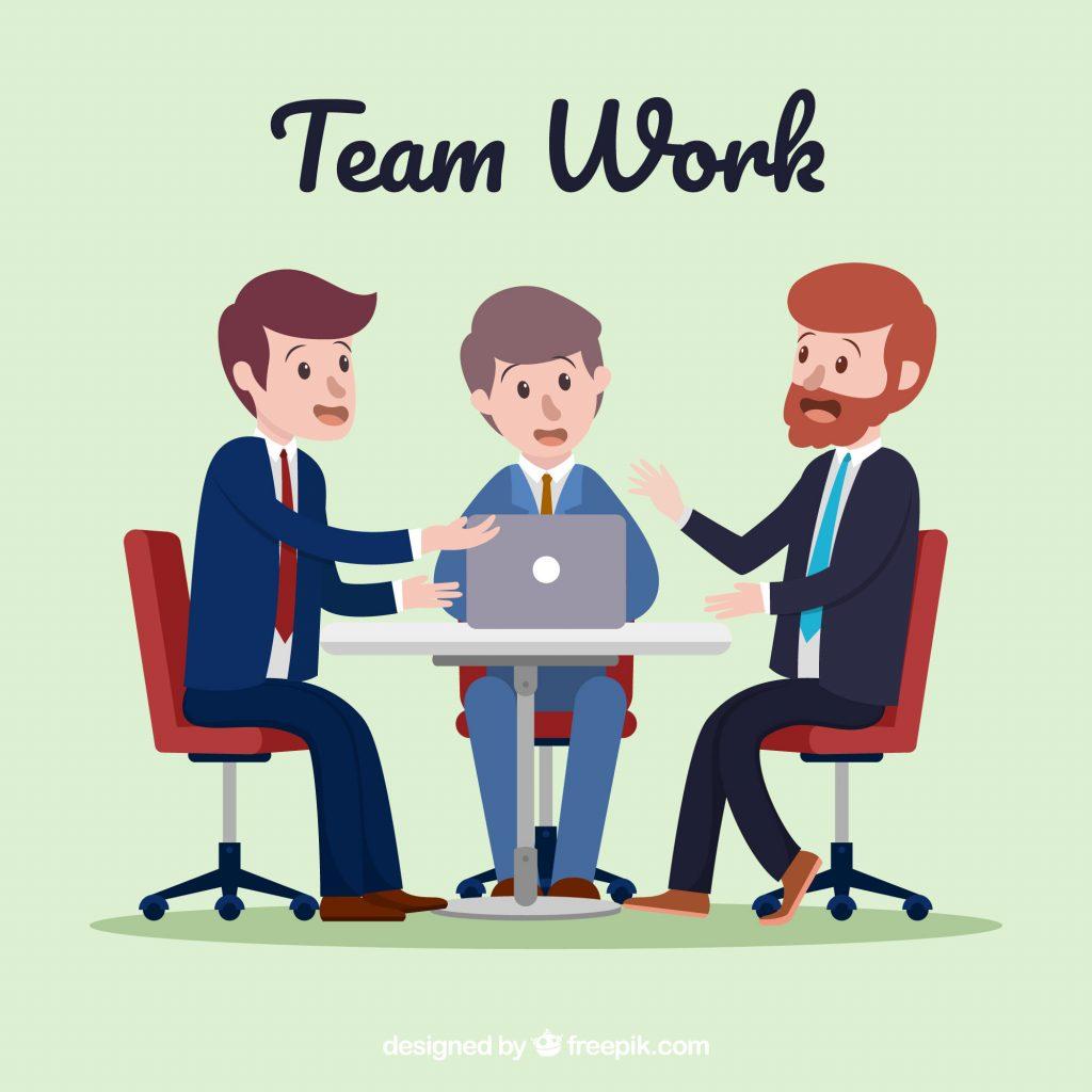 Illustration de l'importance de l'équipe projet