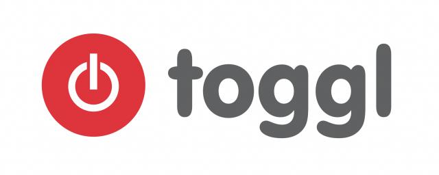 Le logo de Toggl, spécialiste SaaS du time tracking projet