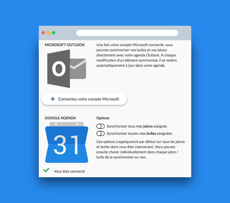 Synchroniser Calendrier Outlook Gmail.Synchronisation Agendas La Fonction Pour Un Projet