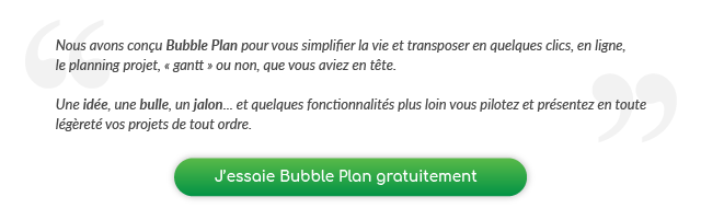 essayer Bubble Plan gratuitement