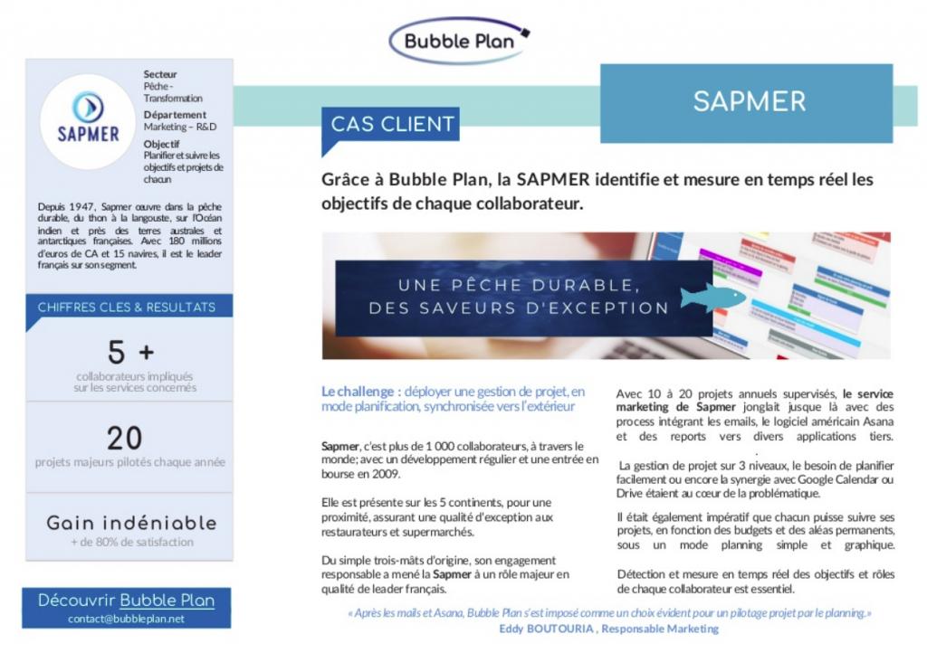 Découvrez le cas client du leader français de la pêche : Sapmer
