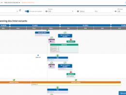 gestion des équipes planning des intervenants