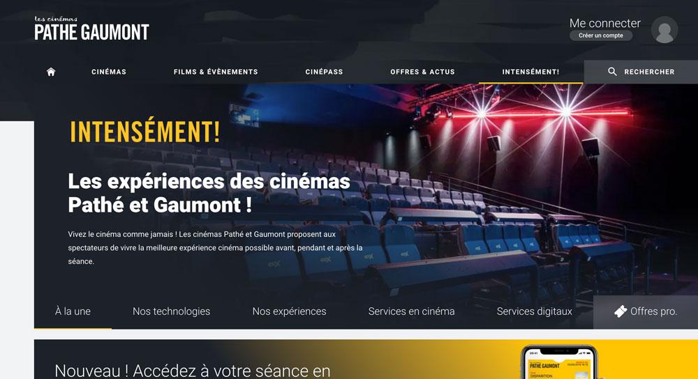 site Pathé Gaumont