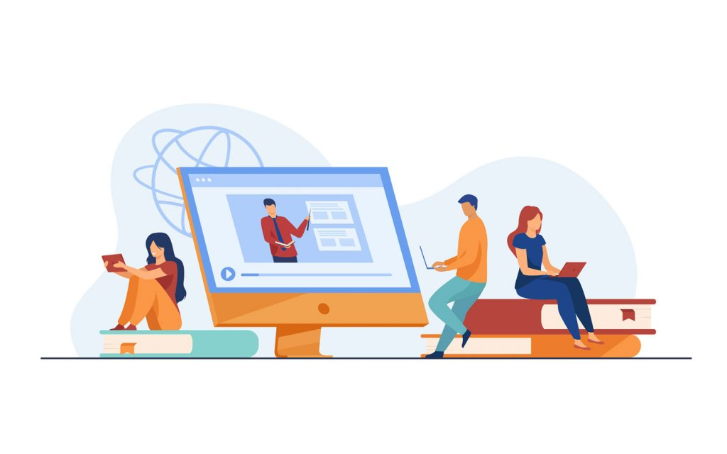 illustration MOOCs