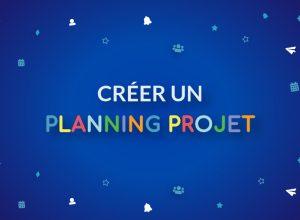 créer un planing projet sur Bubble Plan